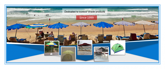 Free Design Big Outdoor Umbrella Outdoor Trade Show With 12*23mm Ribs