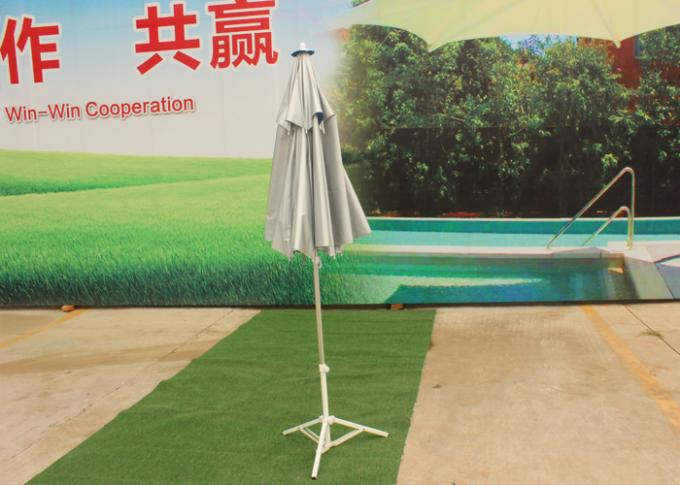 Silver Sun Beach Umbrella Blue Water Drop Outdoor Anti Uv