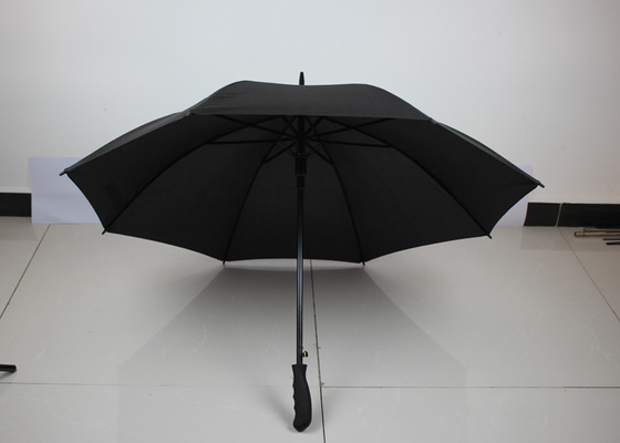 Rainproof Straight Auto Open Umbrella , Long Handle Golf Umbrella Promotional Items