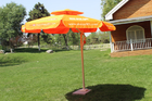 Double Layer Roma Offset Umbrella , Large Round Patio Umbrellas Parasols
