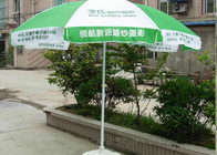 Garden Folding Outdoor Advertising Umbrellas Windproof For Promotion Gift Item