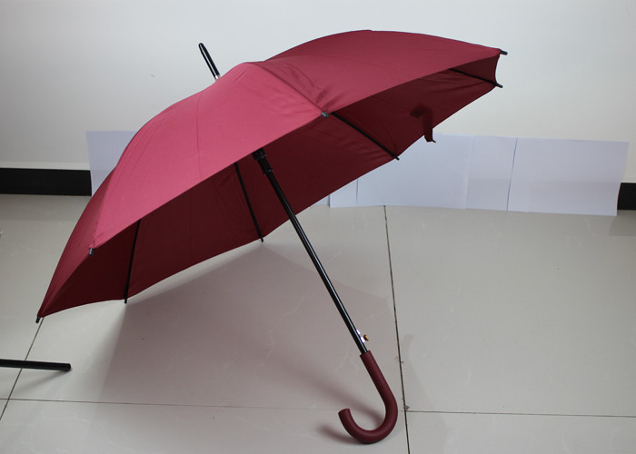 Ladies Decorative Auto Open Umbrella Solid Color For Advertising Events