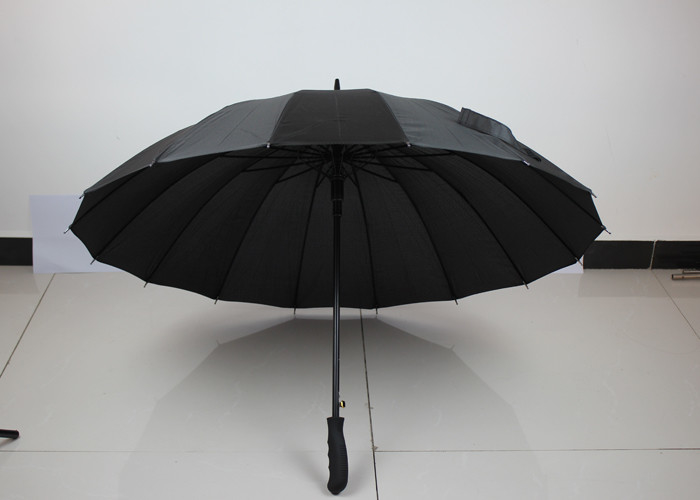 OEM ODM Auto Open Umbrella Wind Resistant With Screen / Heat Transfer Logo