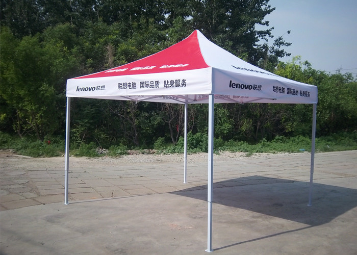 Full Color Printed 3x3 Pop Up Gazebo Fireproof For Exhibition Promotion Display