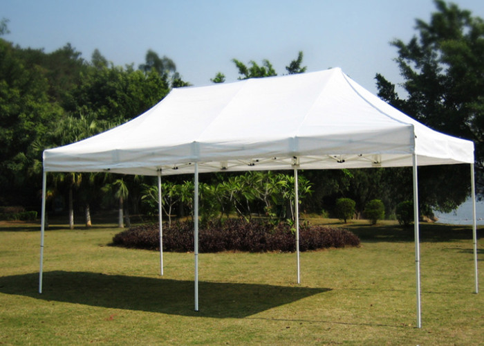 Folding Waterproof Pop Up Gazebo 3x6 600D Oxford Fabric Waterproof For Party