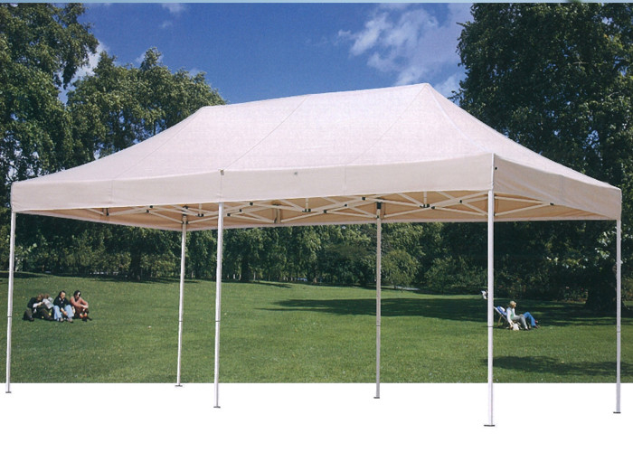Easy Up Fold 3x6 Pop Up Gazebo Canopy Tent White For Exhibition  Outdoor Event & Easy Up Fold 3x6 Pop Up Gazebo Canopy Tent White For Exhibition ...