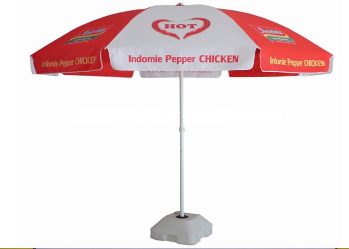 Pepper Promotion Sun Outdoor Garden Umbrella Uv Protection With 210d Oxford Fabric