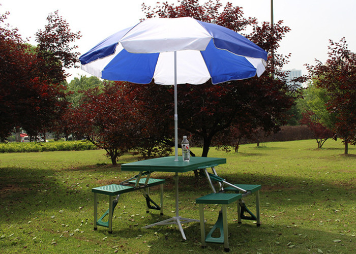 Screen Hand Printing Garden Table Umbrella Strong Patio Table Parasol - Picnic table parasol