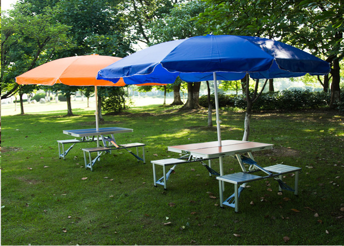 Outdoor Garden Table Parasol Polyester Fabric Patio Table Umbrella - Picnic table parasol