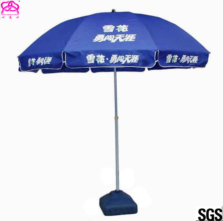 Outdoor Advertising Umbrella Beach Umbrella With Business Logo Prints