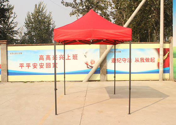 2m X 2m Fold Up Shade Shelters , Movable Custom Made Pop Up Tents Weather Resistant