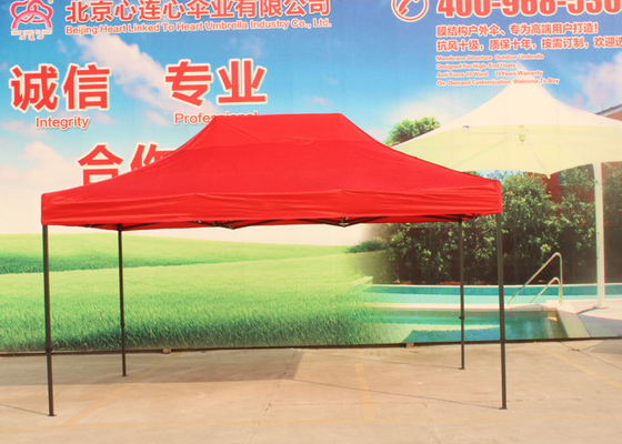 Advertising Activity Pop Up Market Tent , Custom Printed Folding Canopy Tent