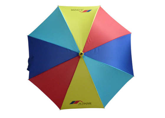 23 Inch 27 Inch 8 Ribs Rainbow Golf Umbrella For Advertising Promotion