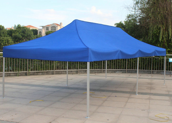 China Blue 3x6 Pop Up Gazebo Canopy Screen Printing Easy Carry For Market Advertising factory