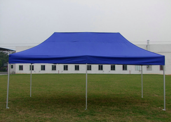 China Aluminum Frame 3x6 Pop Up Gazebo Tent Trade Event Display Canopy With Logo Print factory