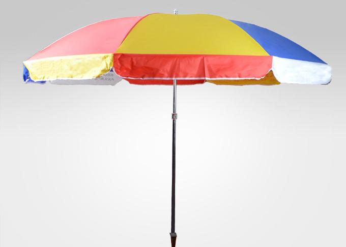 6.5 Ft Adjustable Vented Waterproof Patio Umbrella , Outdoor Large Sun  Umbrella